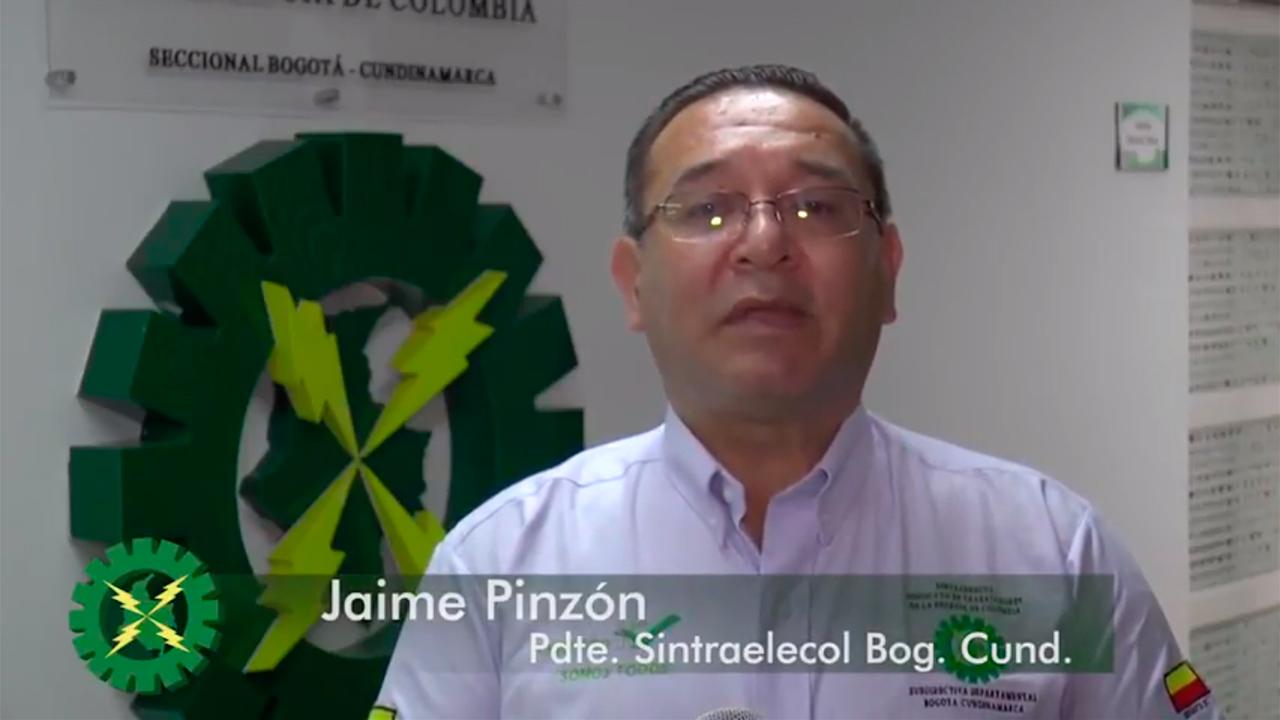 Sintraelecol Bogotá Cundinamarca hace lanzamiento de su página web