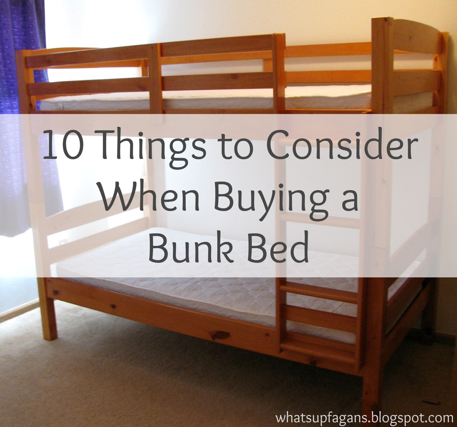 10 tips to help you buy the best bunk bed for kids a for When to buy a mattress
