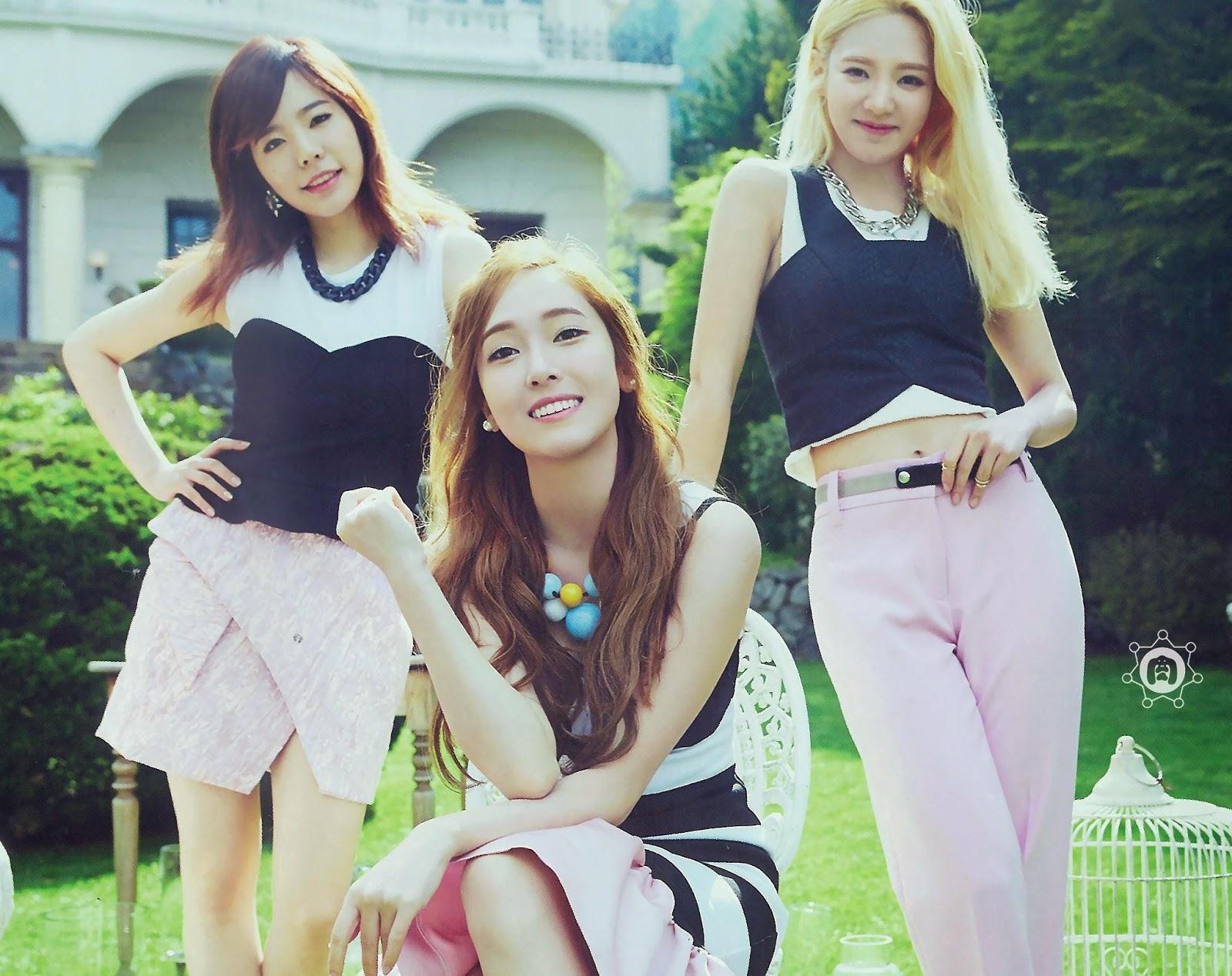 SNSD Girls Generation The Best Scan Wallpaper HD 8