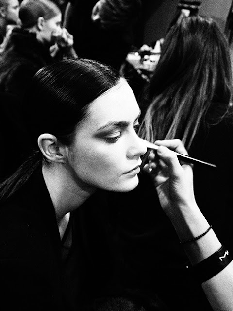 Backstage Milano Fashion Week