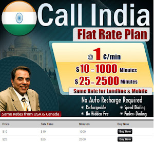 Call India Flate Rate Plan
