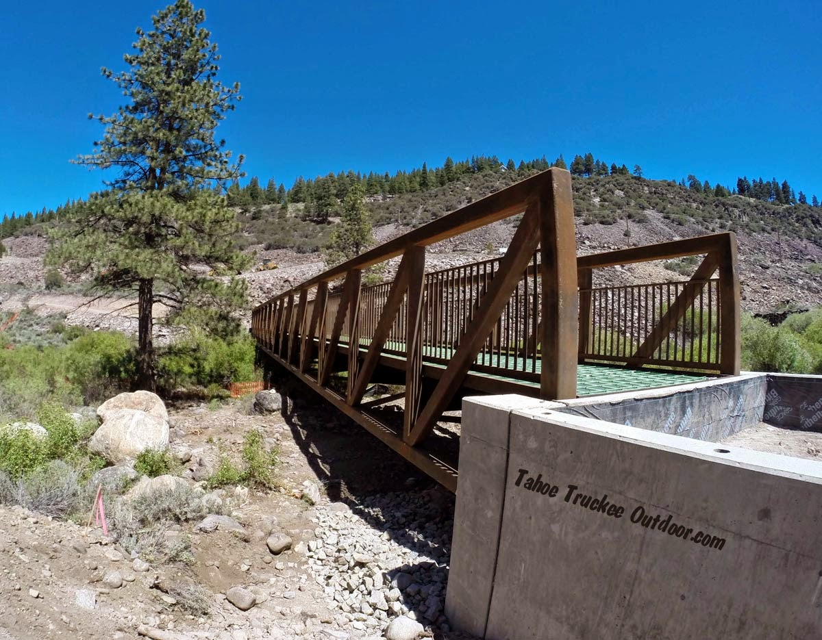 Work on the Truckee River Legacy Trail continues