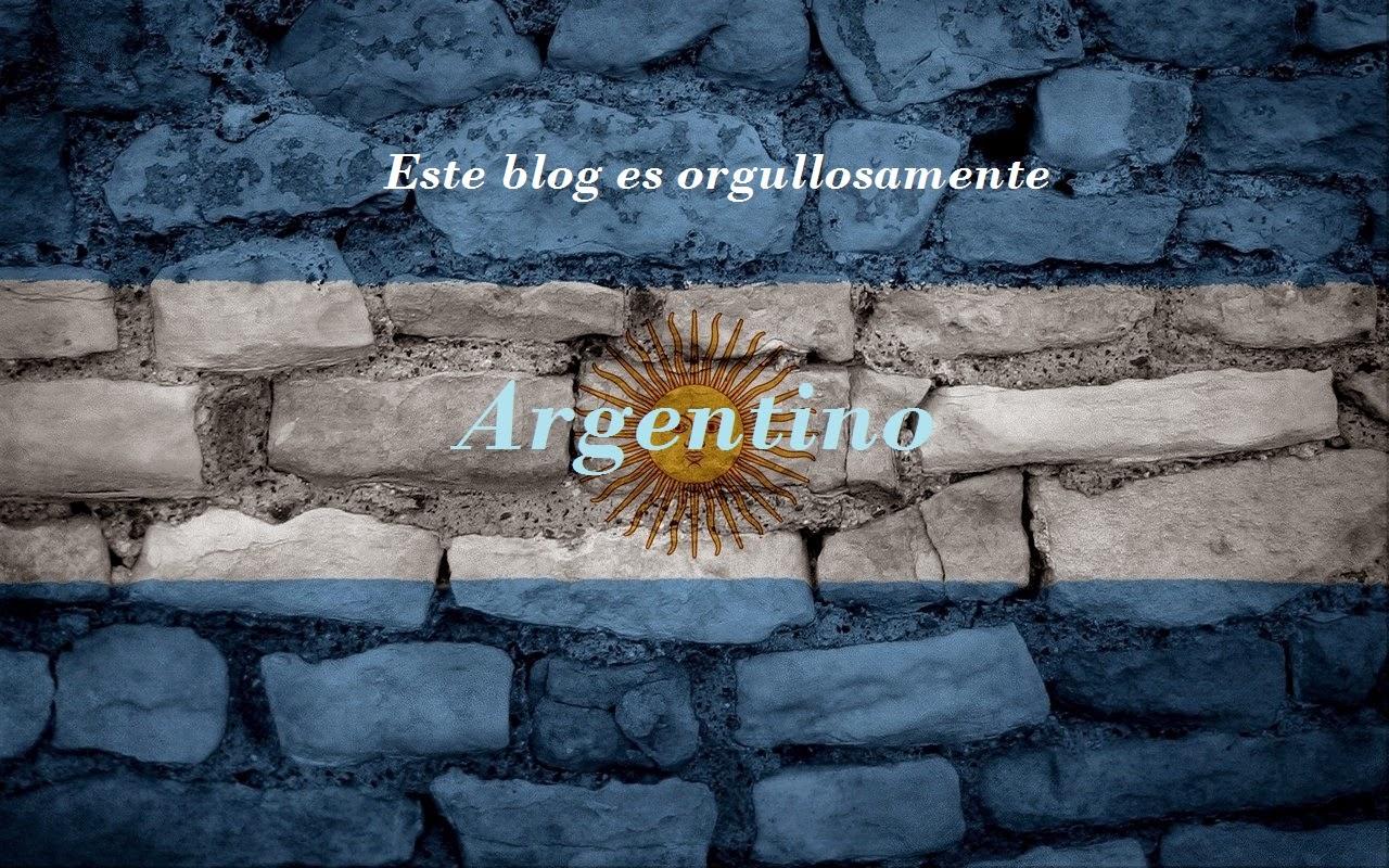 Orgullosamente argentina :D