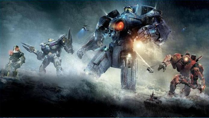 CLASH OF THE TITANS: In Pacific Rim, humans create machines called Jaegers to defend themselves against beasts called Kaiju. Director Guillermo del Toro delivers a visually-arresting, if sentimental, blockbuster.