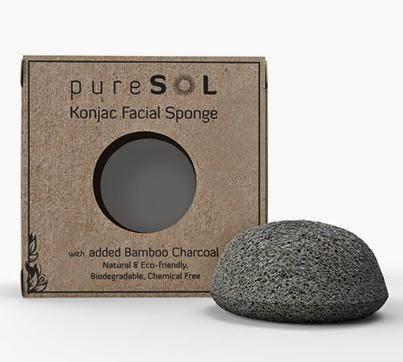 The pureSOL Konjac sponge