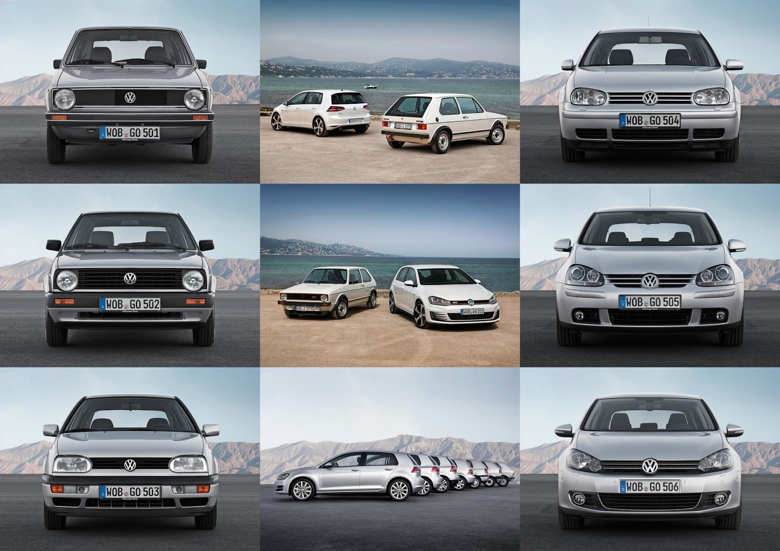 Speedmonkey: Happy 40th Birthday VW Golf - Here's a Detailed History Through All Generations