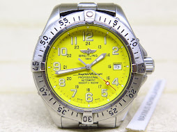 BREITLING SUPEROCEAN PROFESSIONAL 5000FT / 1524M YELLOW DIAL - AUTOMATIC