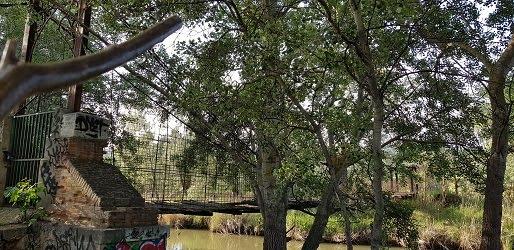 """Puente """"Colgao"""" Abril 2020"""