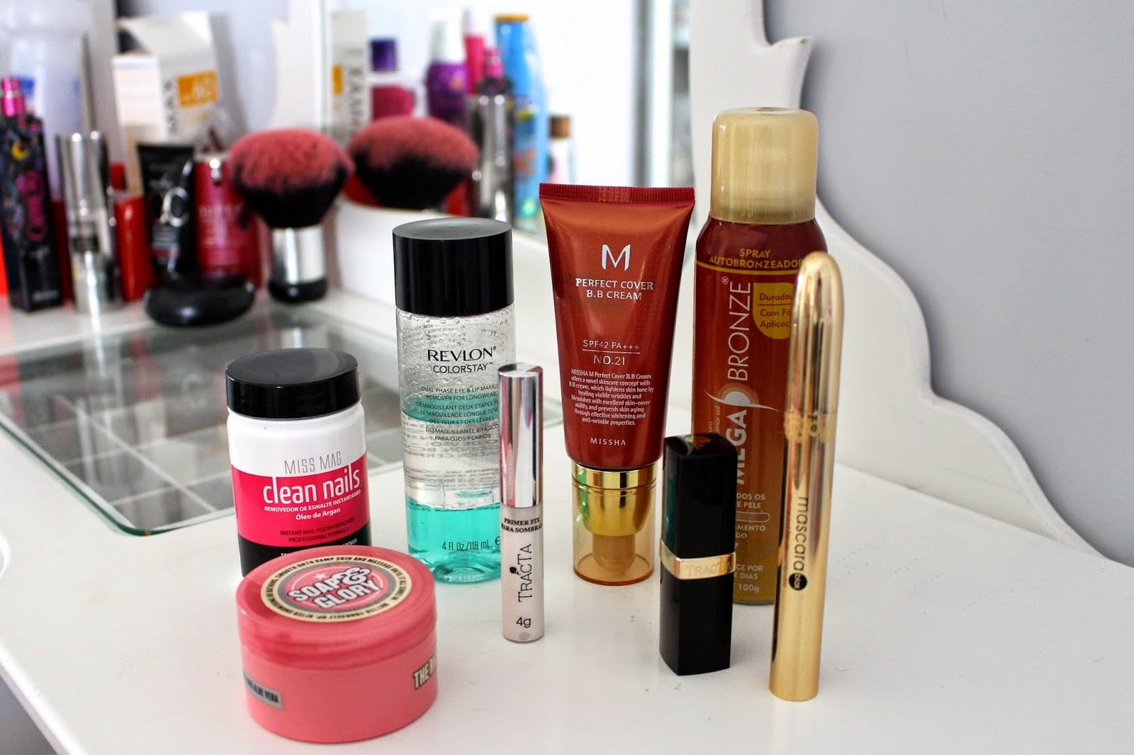 Resenha produtos de beleza