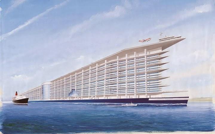 Freedom Ship, Kota Terapung Pertama di Dunia, kota terapung pertama di dunia, kapal terbesar, kapal termegah, kapal termewah, kapal pesiar