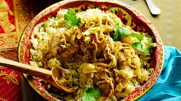 Jeera chicken and rice