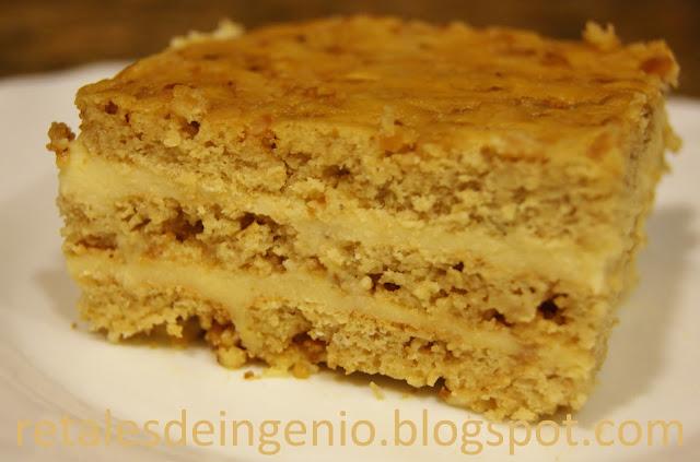 Tarta De Mantecados Con Crema (receta De Aprovechamiento)