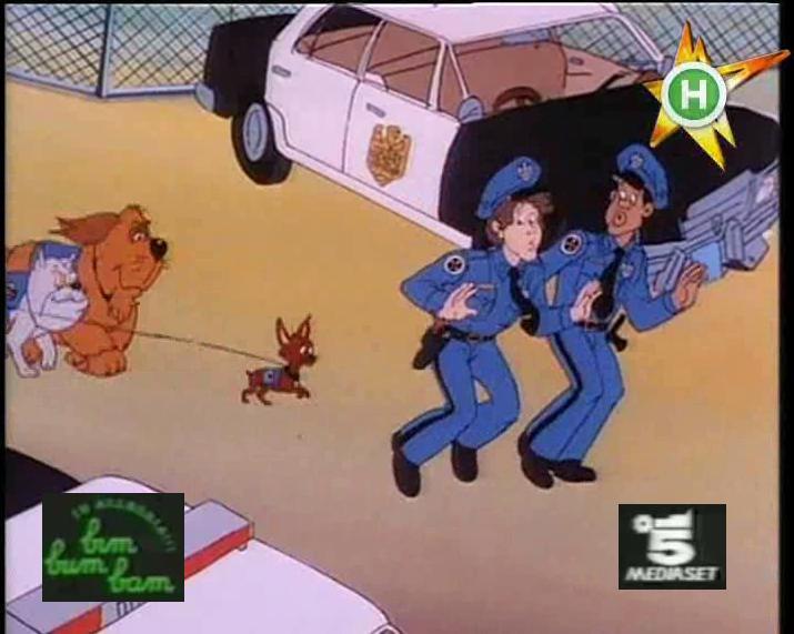 Scuola di polizia cartone bim bum bam