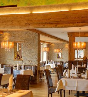 Restaurant im Wellnesshotel Andreus in St. Leonhard in Südtirol