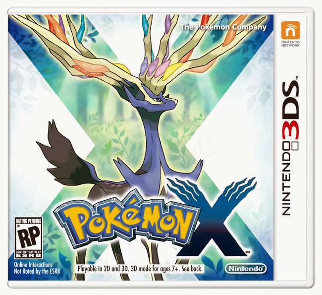 Pokemon X 3DS ROM Multi*7 Download