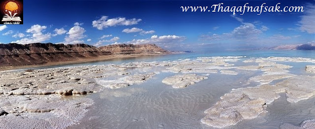 dead sea salt crystals 7%5B2%5D تكوينات غريبة للملح في البحر الميت