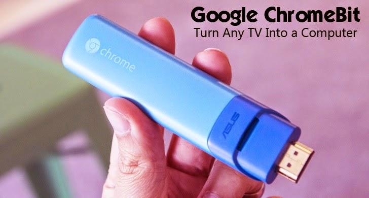 Chromebit - Transforme sua Tv em um computador