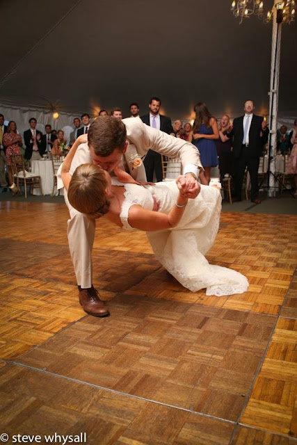Stone manor COuntry Club Wedding Reception bride Groom Dancing