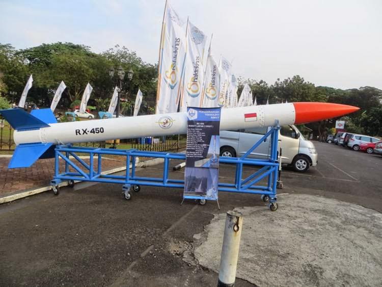 Lapan Kembali Uji Coba Roket RX 450 dan RX 320
