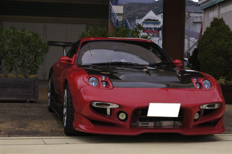 Mazda RX-7 FD3S zdjęcia fotki po tuningu