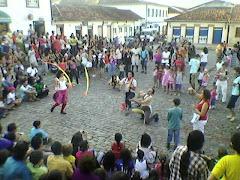 """Festival internacional de palhaços, evento organizado pelo """"Circovolante"""""""