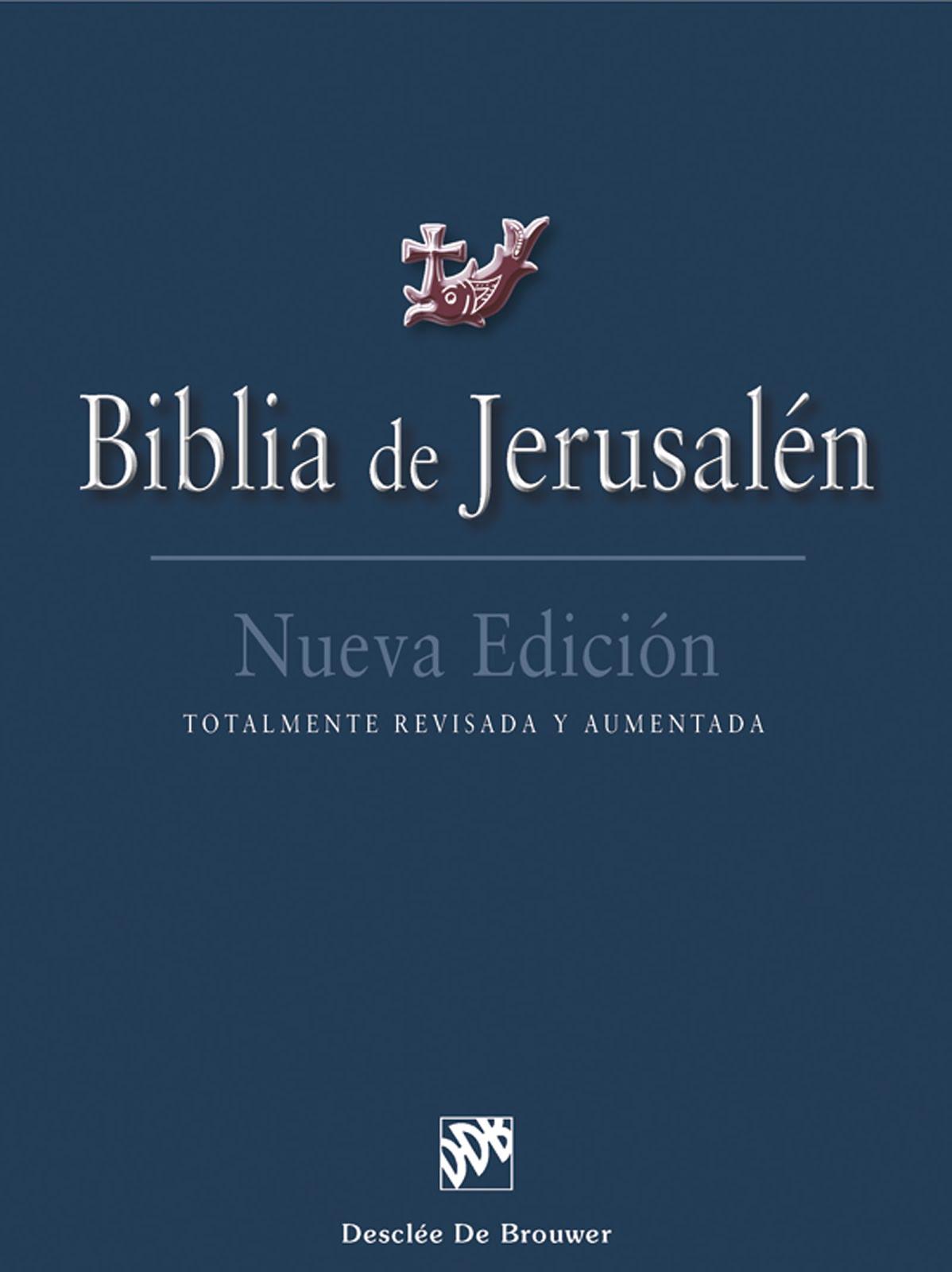 Biblia de Jerusalén - PDF