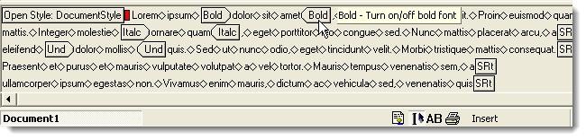 Sử dụng tính năng Reveal Formatting trong Word 2010