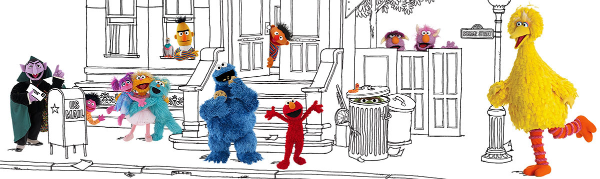 ... That Included Our New Photography Of The Muppets And A Organic Line Art  Style Inspired By Classic Sesame Street Artwork/storybooks. Part 51