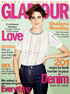 Shailene Woodley Glamour UK Magazine April 2015