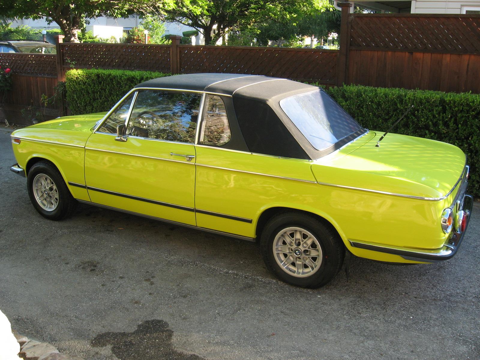1975 BMW 2002 Targa   PrimierAuto