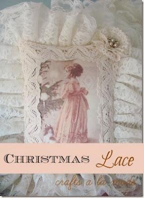 Victorian Girl at Christmas