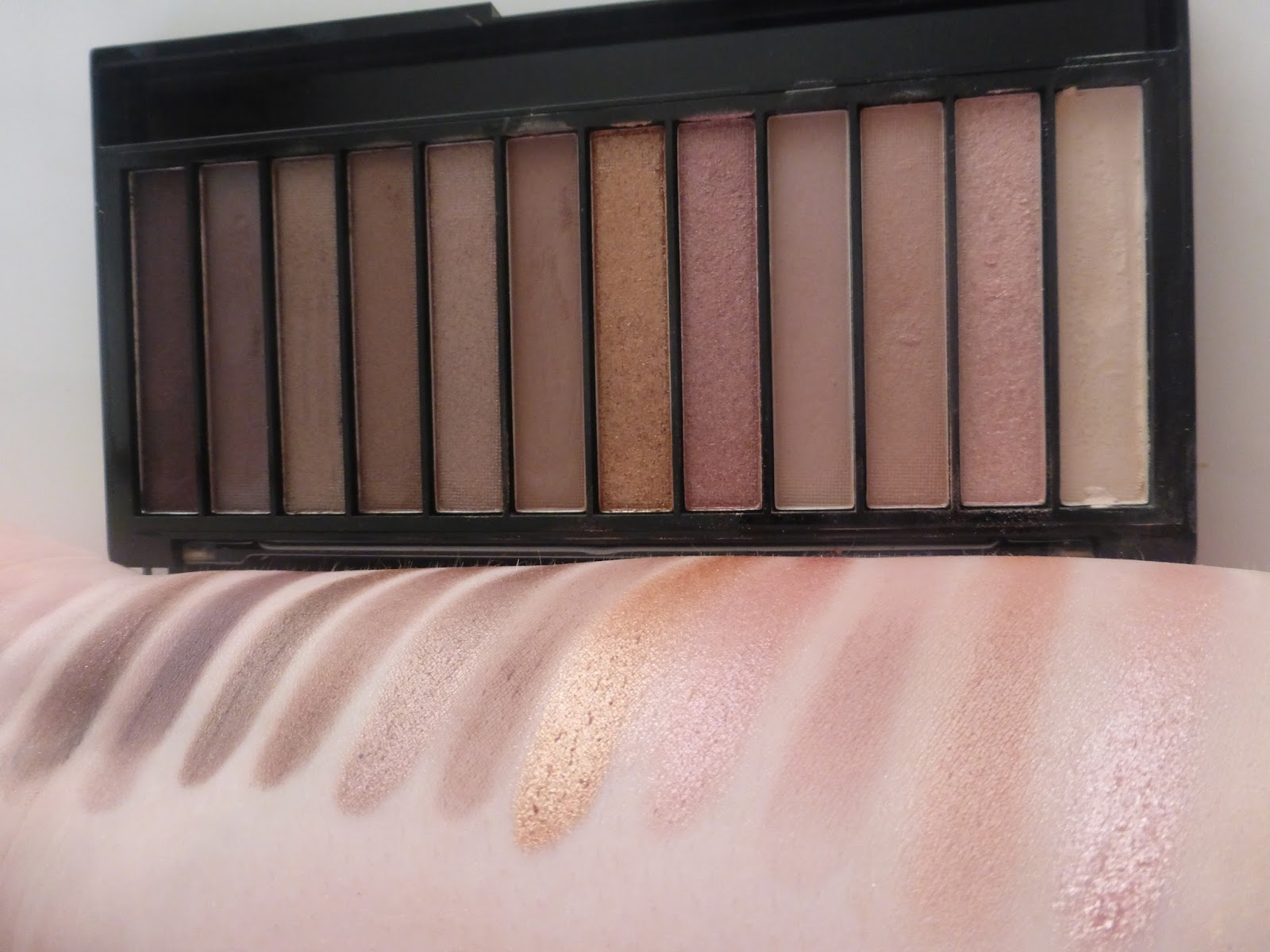 makeup revolution iconic palettes review