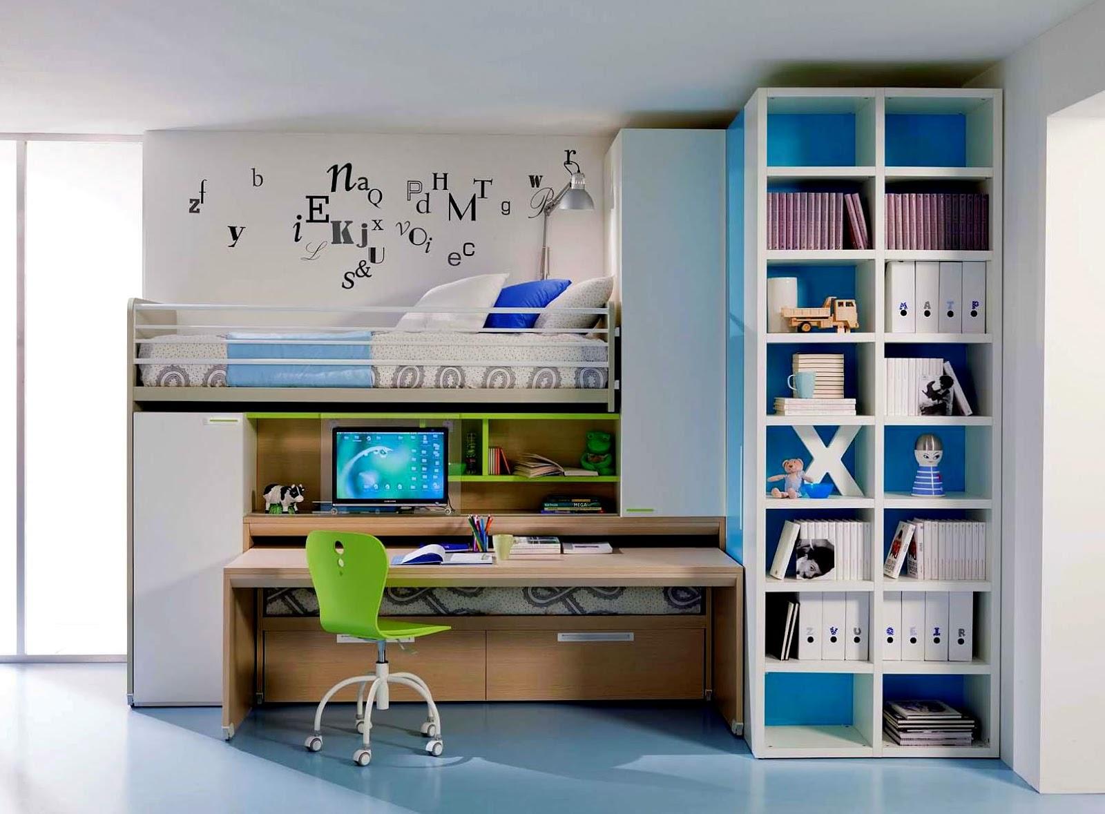 kreativiti dekorasi bilik tidur untuk anak remaja relaks