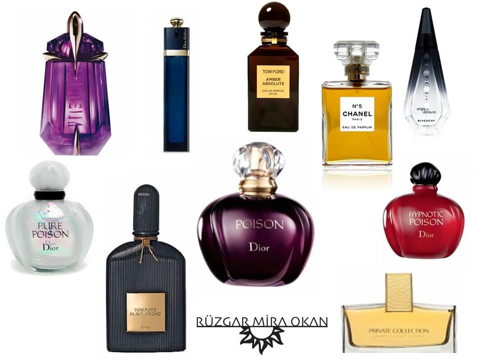 Rüzgarla Stil-IN: Parfüm Top 10