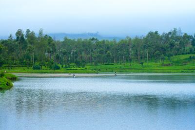 Indahnya Danau Parahyangan Situ Cisanti, Bandung