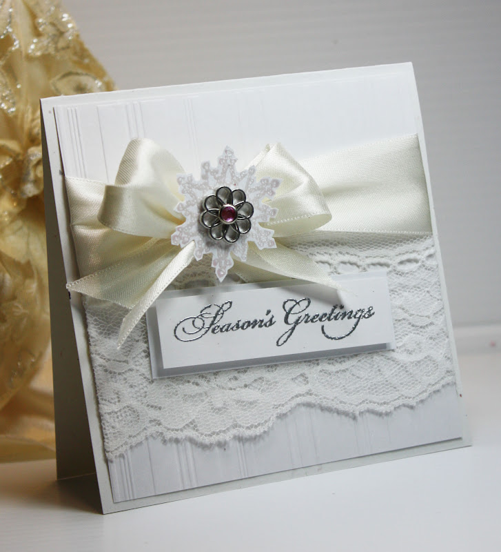 inspired and unscripted elegant christmas card