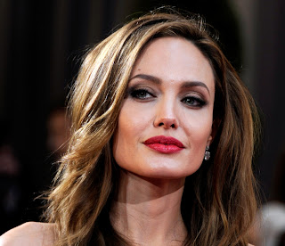 Angelina Jolie in 2013 going to old