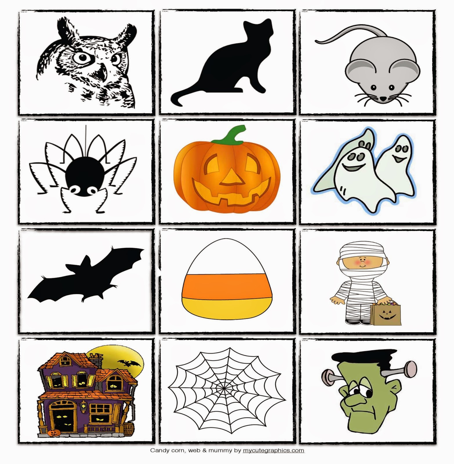 Classroom Freebies: Haunted Onomatopoeia House: Song and Games For ...