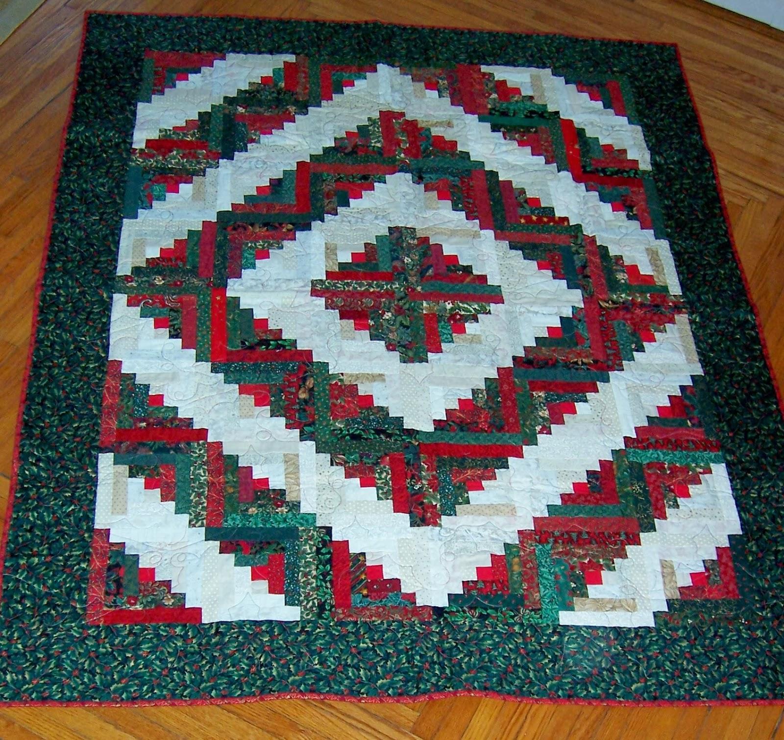 Bachelor 484 sq ft log home kit log cabin kit mountain ridge -  Log Cabin Make A Quilting On Main Street Christmas Quilts Past Part 3