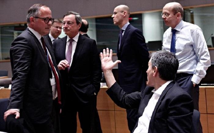 εντονη συζητηση Τσακαλωτου - Ντραγκι για τους ηλεκτρονικους πλειστηριασμους