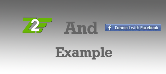 Zend Framework 2 and Facebook Connect Example