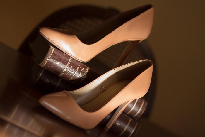 Zapatos Stilettos piel color nude Zara Blogger adicta a los zapatos WOWS With or without shoes
