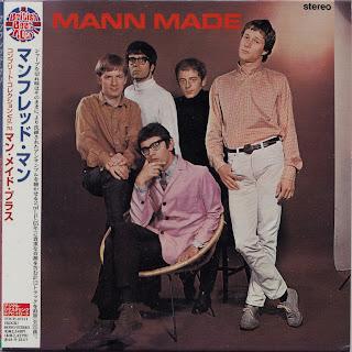 MANFRED MANN - MANN MADE (HIS MASTER\'S VOICE 1965) Jap mastering cardboard sleeve + 12 bonus