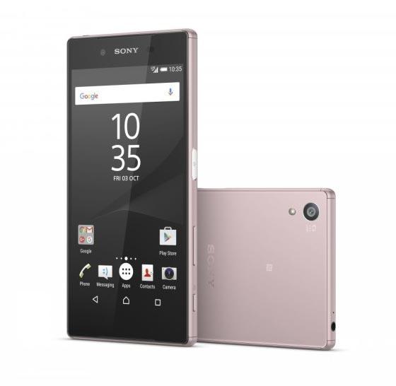 Sony mengumumkan Opsi Baru Warna Pink untuk Xperia Z5