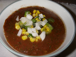 Awesome fresh gazpacho