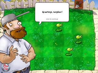 Screeshot Plant Vs Zombie 1