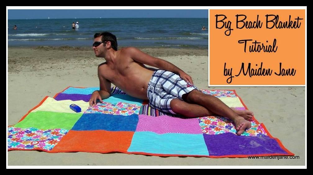 Beach Essentials DIY Blanket