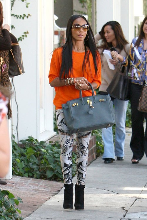 knockoff hermes - My Birkin Blog: Jada Pinkett Smith