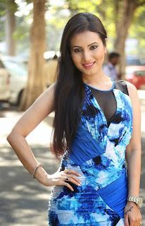 Telugu Actress Anu Smruthi Latest Pictures in Short Dress at Heroine Movie Press Meet 9