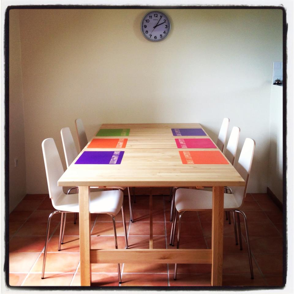 Maison de charme blaymont a l 39 int rieur le rez de for Salle a manger translation